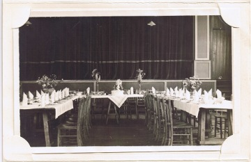 parish hall tables set